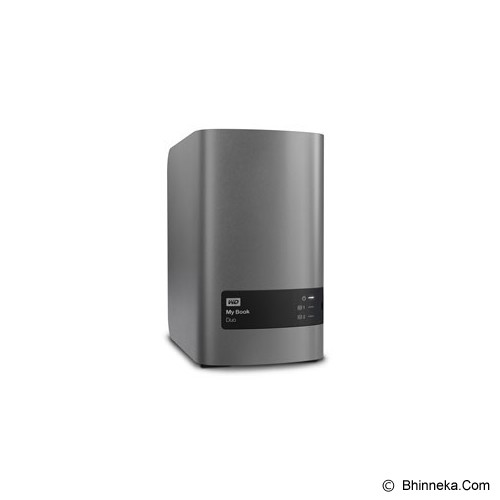 WD My Book Duo 12TB [WDBLWE0120JCH] - Hard Disk External 3.5 Inch